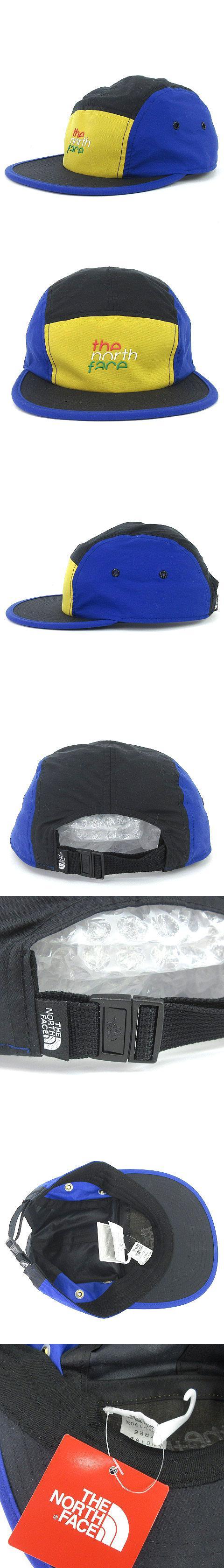 19SS FIVE PANEL CAP 5パネル キャップ ナイロン NN01825 青 黄色 黒 ブルー イエロー ブラック FREE 帽子