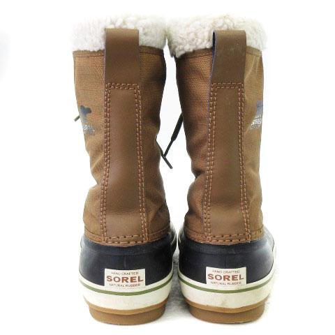 ソレル SOREL アウトドアブーツ スノーブーツ 1964 パックナイロン NM1440-260 ナツメグ ブラック 27 靴 ■SM メンズ