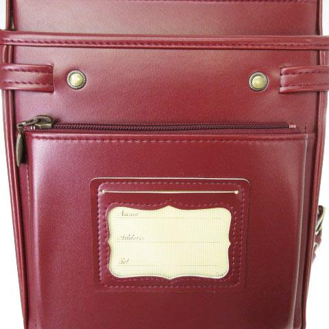 KAZAMA BRAND カザマ ブランド ランドセル バッグ クラリーノ 赤茶系 鞄 ■SM キッズ