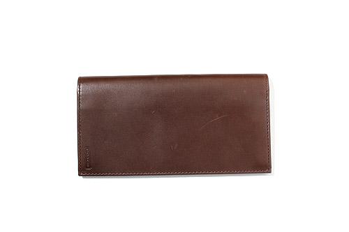 quality design 6ce15 275f9 COACH コーチ レザー 二つ折り お札入れ 長財布 ダークブラウン/◆ メンズ