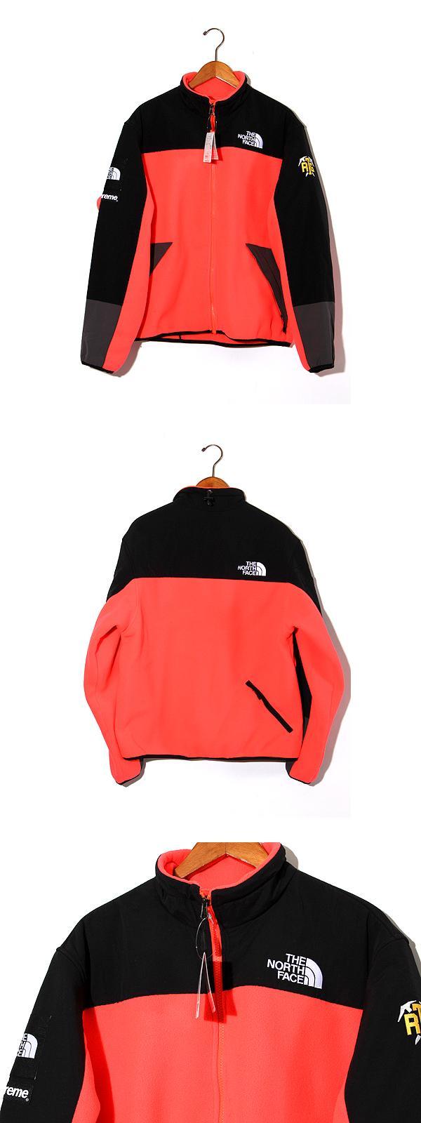 未使用品 2020SS SUPREME × THE NORTH FACE シュプリーム ザ・ノースフェイス RTG Fleece Jacket フリースジャケット M Red 赤/●