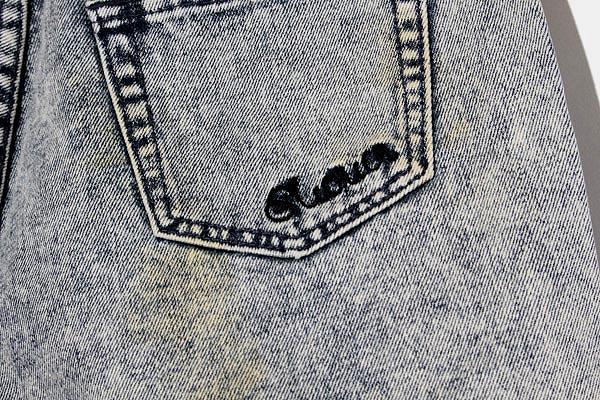 未使用品 MURUA ムルーア コットン スター クラッシュ デニム ショートパンツ ショーツ M インディゴ /◆☆ レディース