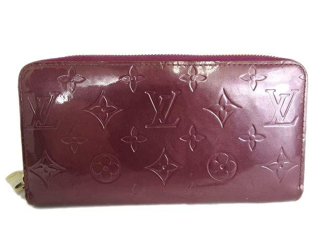 online store aa1dc 00fea ルイヴィトン LOUIS VUITTON ヴェルニ ジッピーウォレット 長財布 ヴィオレ M93575