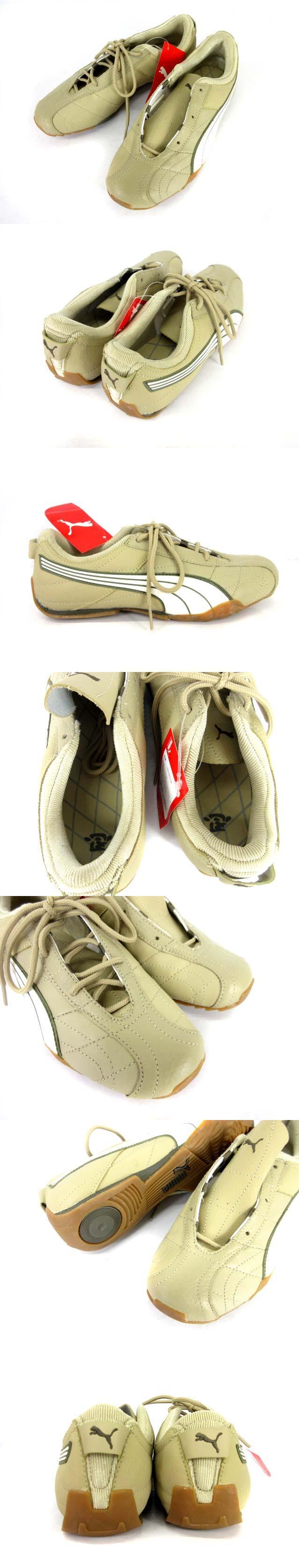 スニーカー アイキ 靴 忍 ベージュ 24cm 181923 04 0526
