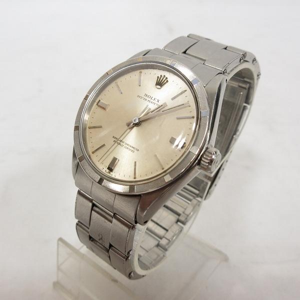 ac5f53a012 ロレックス ROLEX ヴィンテージ 鑑定済み 腕時計 オイスターパーペチュアル OYSTER PERPETUAL Ref.1007 アナログ  自動巻き 1967年製 SS 動作品 J180822 ☆AA☆ メンズ