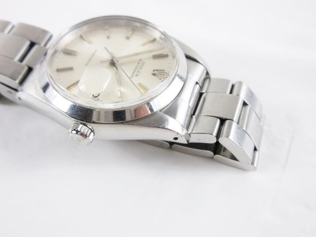 95cd37cc2c ... ロレックス ROLEX オイスターデイト プレシジョン 腕時計 ウォッチ 手巻き ステンレスバンド シルバー 6694 OYSTERDATE  PRECISION/☆