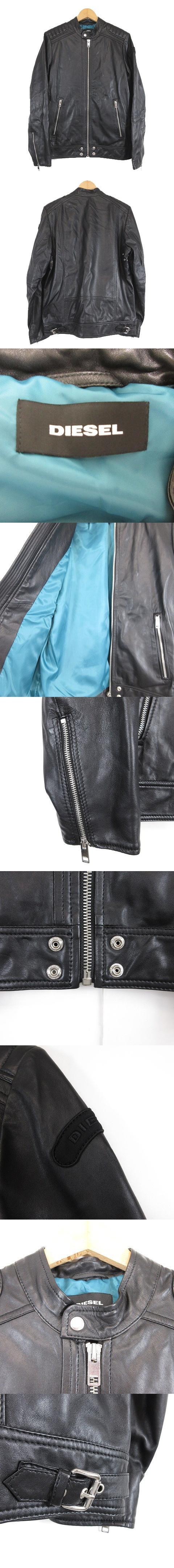 シープスキン シングル ライダース ジャケット 羊革 レザー ブルゾン M 黒 ブラック/b65