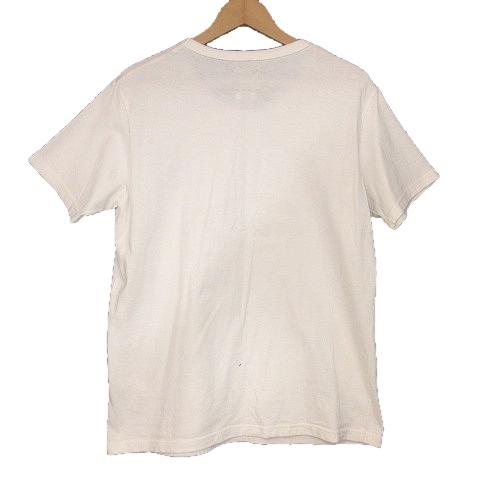 ビズビム VISVIM 16AW F.I.L.限定 STENCIL CREW S/S VISVIM Tシャツ ステンシル プリント 2 白 ホワイト 0116405010001/O48 メンズ