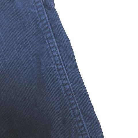 ビズビム VISVIM 13AW SLIM CHINO SLUB CORDUROY スリム チノ スラブ コーデュロイ ロングパンツ 2 インディゴ 青 ブルー 0113205008014/3 メンズ