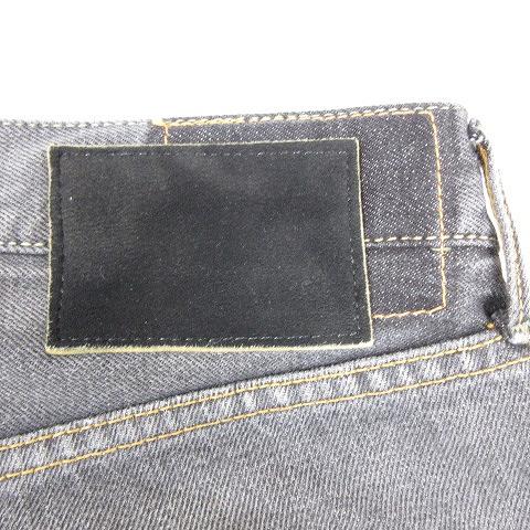 ビズビム VISVIM 美品 17AW スポット SOCIAL SCULPTURE 03 BLACK DAMAGED-10 ヴィンテージバンダナ ソーシャル スカルプチャー ジーンズ デニム パンツ ジーパン 34×30 ブラック 0117405005001/V20 メンズ