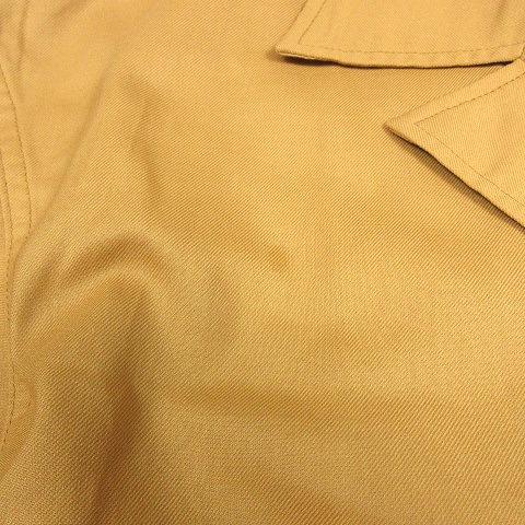 ビズビム VISVIM 20SS CORNET SHIRT S/S コルネット シャツ 半袖 ロゴ ペイント オープンカラー 4 ブラウン 茶色 0120105011014/r92 メンズ