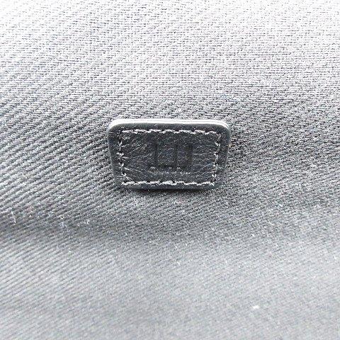 ダンヒル dunhill キャリーバッグ キャリーケース スーツケース 旅行かばん レザー 切替 ドット 水玉 チャコール/△M32 メンズ
