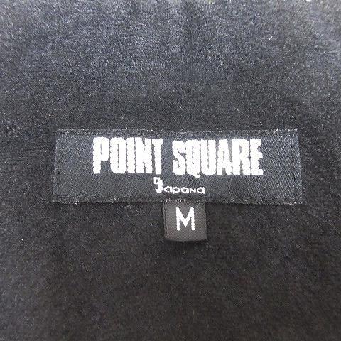 ポイント スクエア POINT SQUARE サロペット スキーウェア ジップ付ポケット  裾リブ付 M ベージュ ■4/2 メンズ