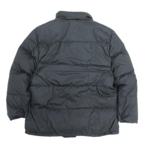 モンクレール MONCLER 青タグ ダウンジャケット ダウンコート ブルゾン 2 黒 ブラック G32-003 D90-201/B162■5 メンズ