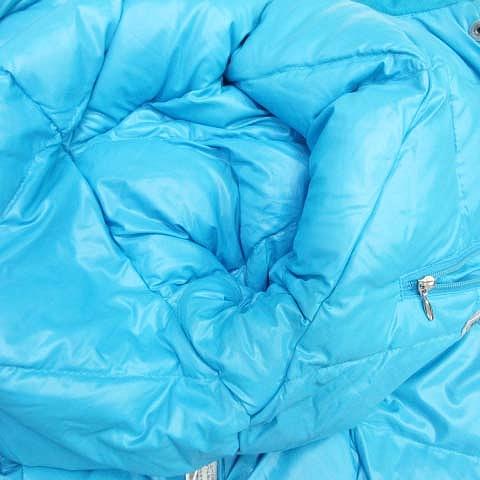 モンクレール MONCLER ダウンジャケット スキーウェア ナイロン ブルゾン 9-2 ライトブルー/H63■5 レディース