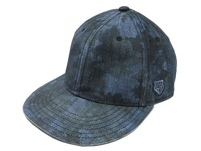 c8cd1e0f6d6 オニツカタイガー Onitsuka Tiger アシックス ASICS キャップ 帽子 迷彩 カモフラ BB CAP OKG484 紺 ネイビー F  メンズ