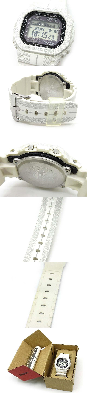 Gライド G-LIDE 電波 ソーラー 腕時計 デジタル GWX-5600WA-7JF ホワイト 白
