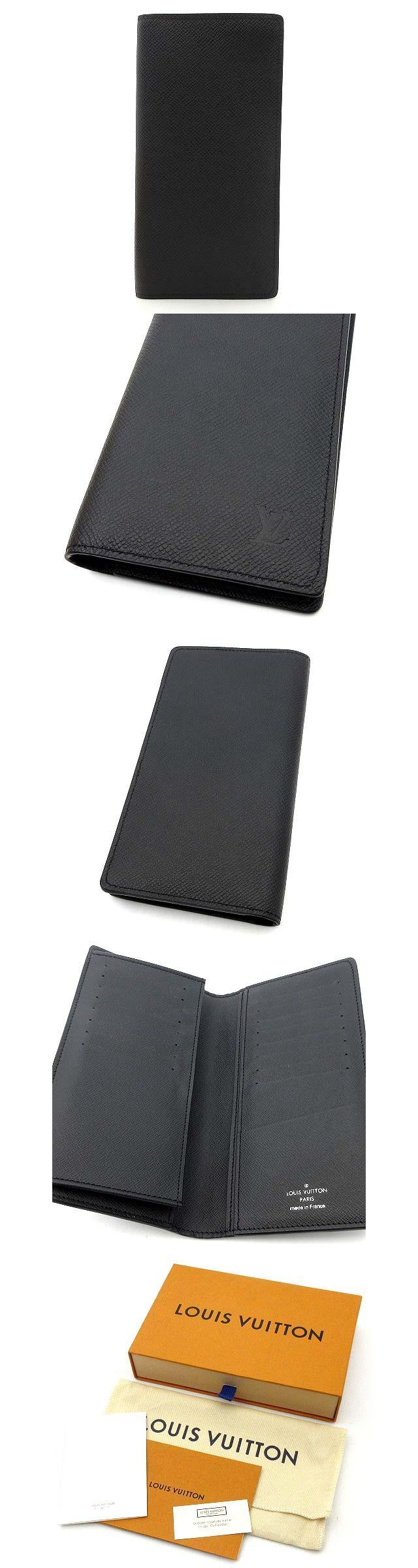 タイガ ポルトフォイユ ロン 二つ折り 長財布 札入れ 長札入れ M30541 アルドワーズ ブラック 黒 超美品