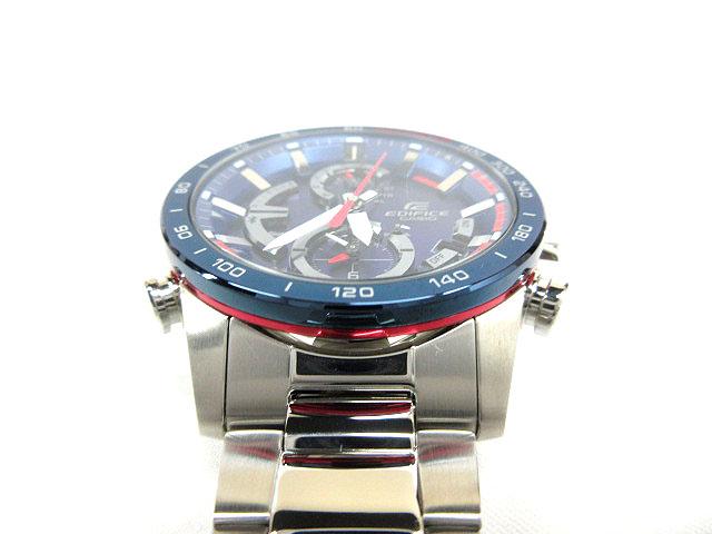 b3f1807de8 カシオ CASIO 腕時計 エディフィス EDIFICE スクーデリア・トロ・ロッソ タフソーラー EQB-900TR- ...