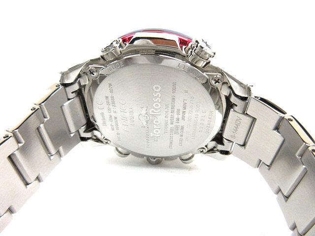 6168ac078d ... カシオ CASIO 腕時計 エディフィス EDIFICE スクーデリア・トロ・ロッソ タフソーラー EQB-900TR-