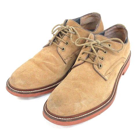 アルフレッドバニスター alfredoBANNISTER unline レースアップシューズ スエード 25 ベージュ 靴 191002E メンズ
