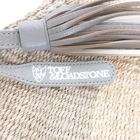 トフ&ロードストーン TOFF&LOADSTONE ハイブリッド バスケット Hybrid Basket かごバッグ ショルダー ハンド アバカ タッセル ナチュラル レディース
