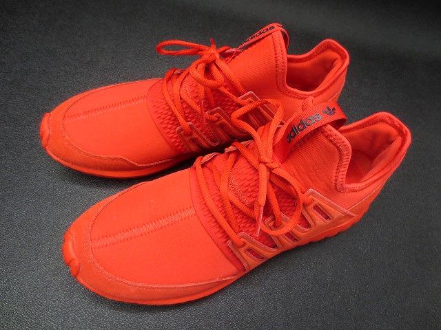 adidas スニーカー チューブラー 赤