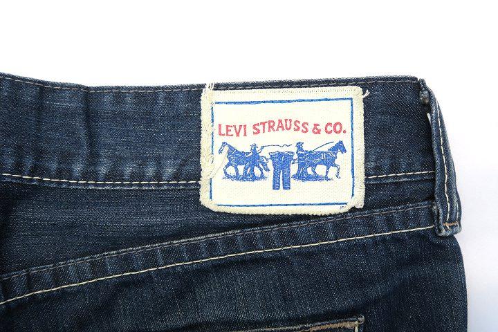 リーバイス Levi's NL928-0001 USED加工 バギー デニムパンツ 31
