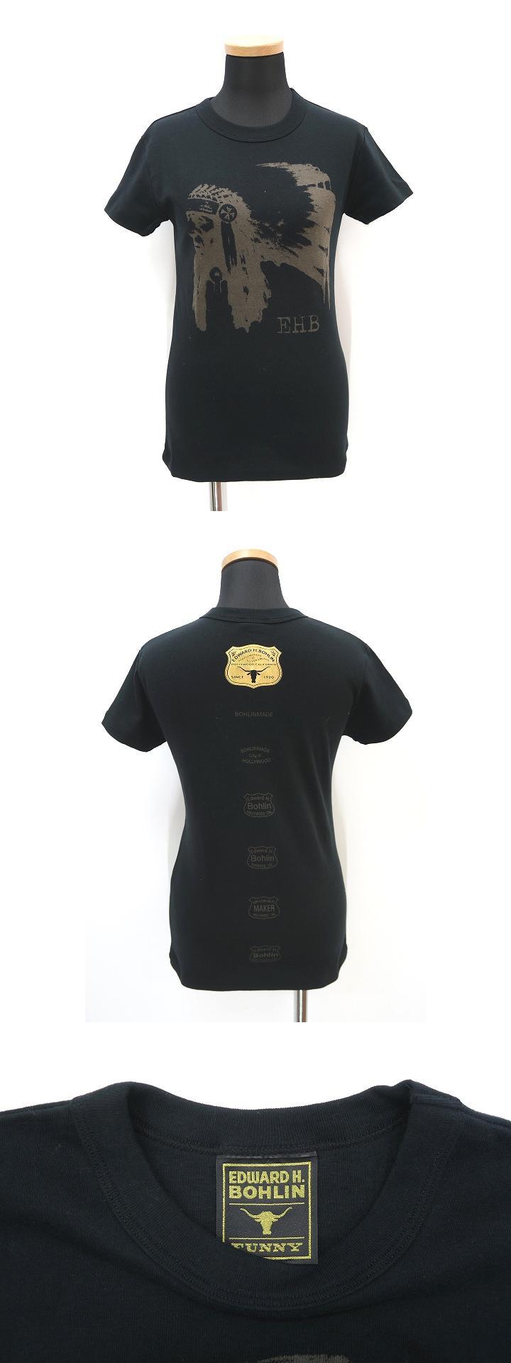 EDWARD H. BOHLIN エドワード エイチ ボーリン プリント 半袖 Tシャツ カットソー M