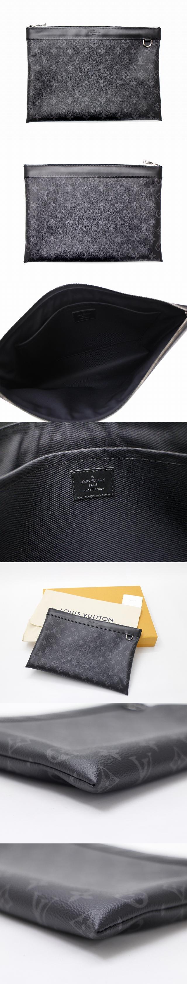 モノグラム エクリプス ポシェット・ディスカバリー M62291 クラッチバッグ セカンドバッグ