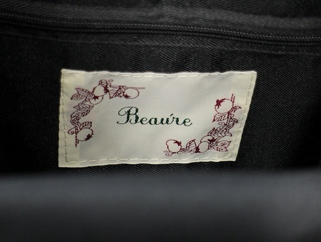 ヴュレ Beaure ビュレ バスケット カゴバッグ かごバッグ ワンハンドル 巾着 ナチュラル レディース
