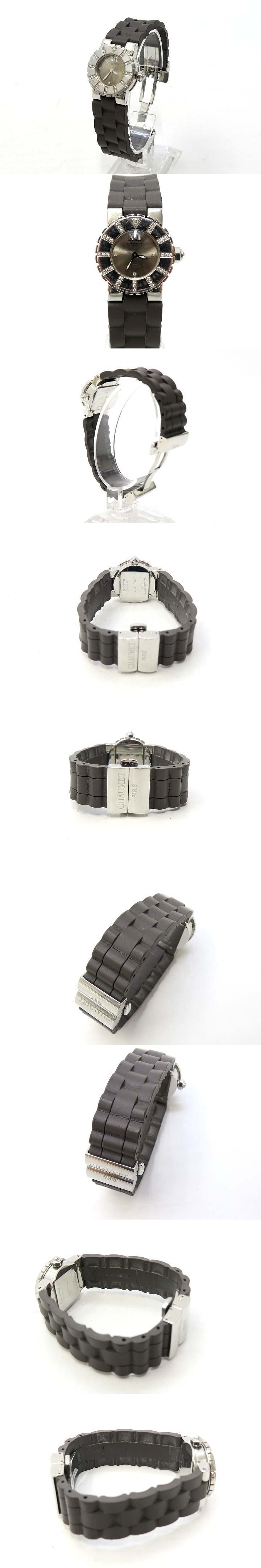 621-4138 ダイヤモンド装飾 クラスワン クォーツ ウォッチ 時計