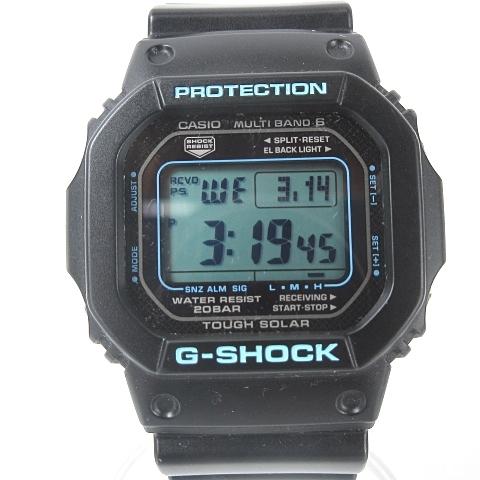 13a45f2cc2 カシオジーショック CASIO G-SHOCK MULTIBAND 6 GW-M5610-1JF マルチバンド 6 タフソーラー 電波 デジタル  ブラック 黒 腕時計 O-180317 メンズ レディース