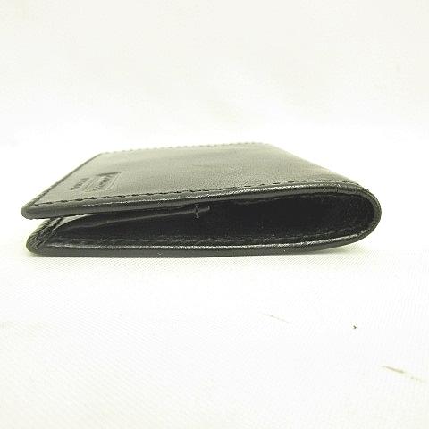 low priced 31d4a 04eaf コーチ COACH コインケース 小銭入れ レザー 革 黒 ブラック KYー190524 メンズ
