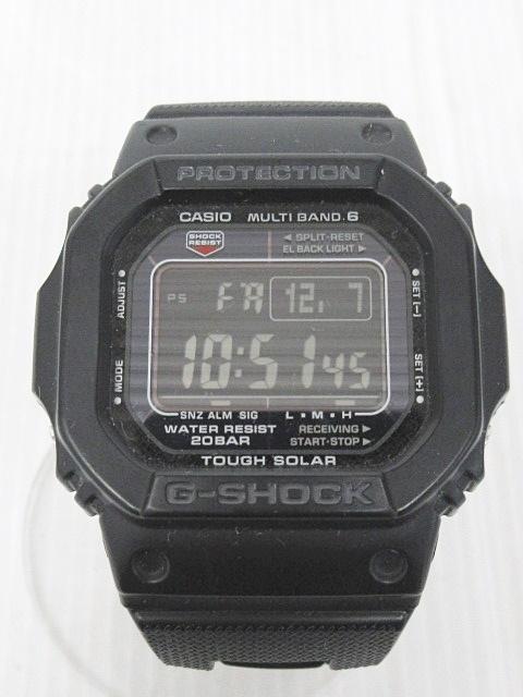 7737926b52 カシオジーショック CASIO G-SHOCK GW-M5610BC 腕時計 メタルバンド 電波ソーラ ブラック 黒 1207 メンズ