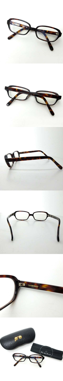 hakusan 白山眼鏡店 メガネ 眼鏡 めがね スクエア べっこう柄 茶 ブラウン 0722