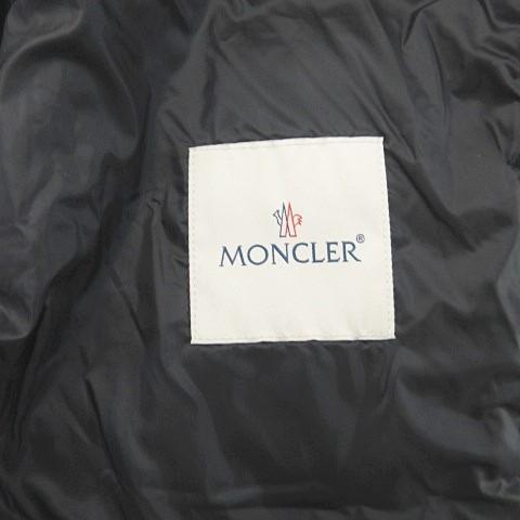 未使用品 モンクレール MONCLER 19AW Billecart ビルカール ダウン パーカー ベスト フーディ 黒 1 国内正規品 0525 ECR5 メンズ