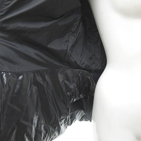 モンクレール MONCLER 美品 ミリエル MIRIEL ダウン ジャケット コート ダブルジップ ハイネック 黒 1 0525 ECR5 レディース