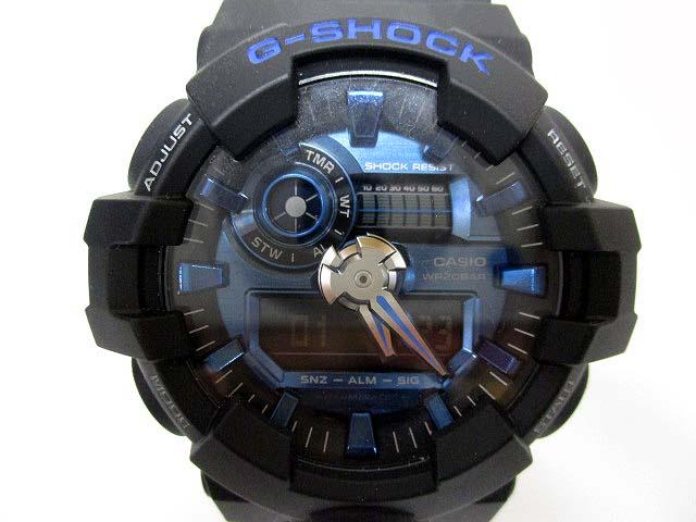 super popular d6a56 979fa カシオジーショック CASIO G-SHOCK SHOCK RESIST GA-710-1A2JF ショックレジスト アナデジ デジアナ クォーツ  腕時計 ブルー ブラック 青 黒 181213NM-9912B