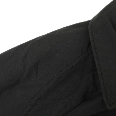 シェラデザイン SIERRA DESIGNS 60/40 クロス ステンカラー コート ジャケット ブルゾン M 黒 ブラック メンズ/n21◆8 メンズ