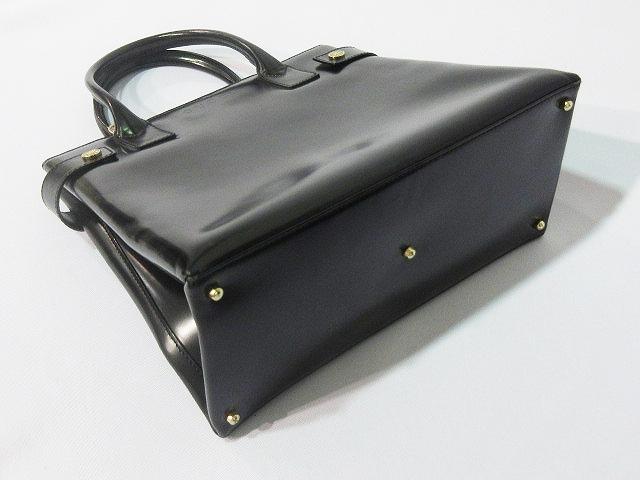 d03fff6b8be7 ... グッチ GUCCI ハンドバッグ ショルダーバッグ エナメル 伊製 イタリア製 000-1118-0503 黒 ブラック ...