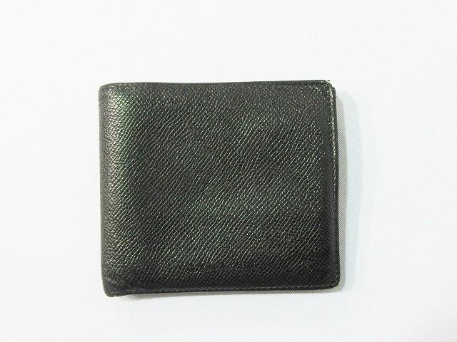 competitive price 80faf 7736c ブルガリ BVLGARI 財布 二つ折り レザー 本革 黒 ブラック系 メンズ レディース
