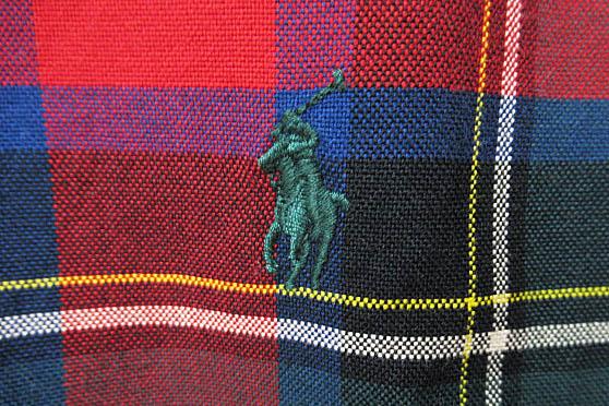 ラルフローレン RALPH LAUREN 長袖 チェック シャツ L/S ポニー刺繍 L レッド ブランド古着ベクトル 中古● 170714 0000 メンズ