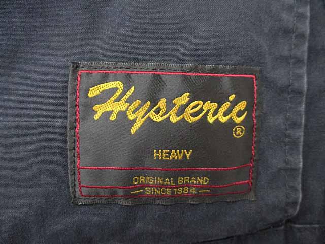 ヒステリックス Hysterics M-65 ワッペン ミリタリー モッズコート 140黒ブラック ブランド古着ベクトル 中古170906 0058 レディース