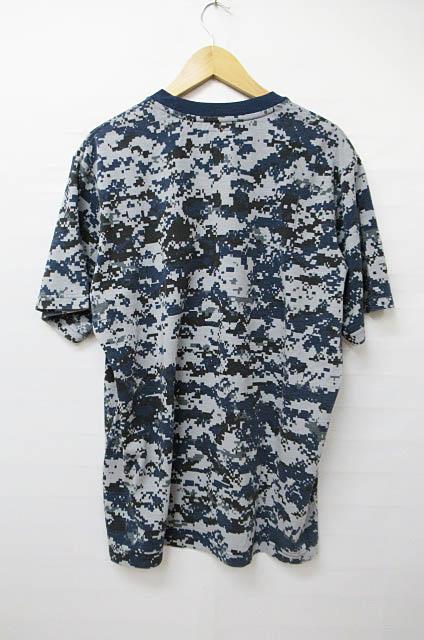 シュプリーム SUPREME 17AW デジカモ S/S Pocket Tee ポケットTシャツL青ブルー ブランド古着ベクトル 中古 171015 0070 メンズ