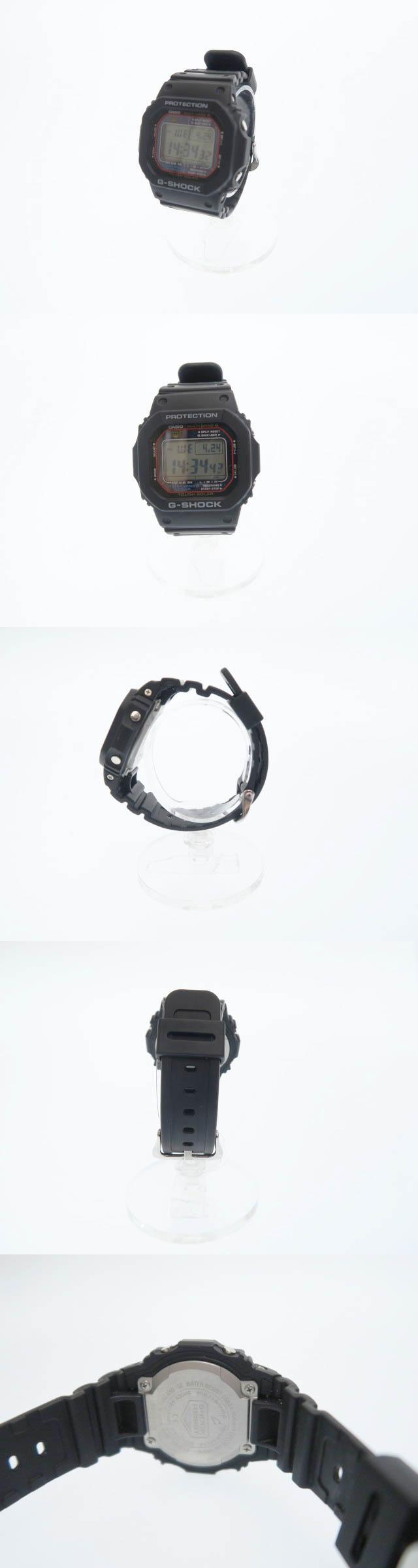 マルチバンド ソーラー 電波 腕時計 GW-M5610 ブラック ブランド古着ベクトル 中古●▲ 190424 0020