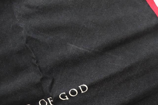 フィアオブゴッド Fear of God 17AW 5TH COLLECTION Scarf Bandana スカーフ バンダナ 黒 ブラック ブランド古着ベクトル 中古 ☆AA★▲■ 200511 0030 メンズ