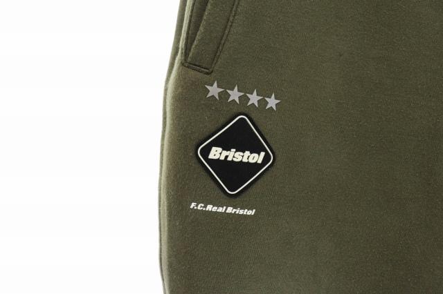 エフシーレアルブリストル F.C.Real Bristol FCRB 18AW SWEAT TRAINING PANT スウェット トレーニング パンツ FCRB-189031 XL カーキ ブランド古着ベクトル 中古210423 0040 メンズ
