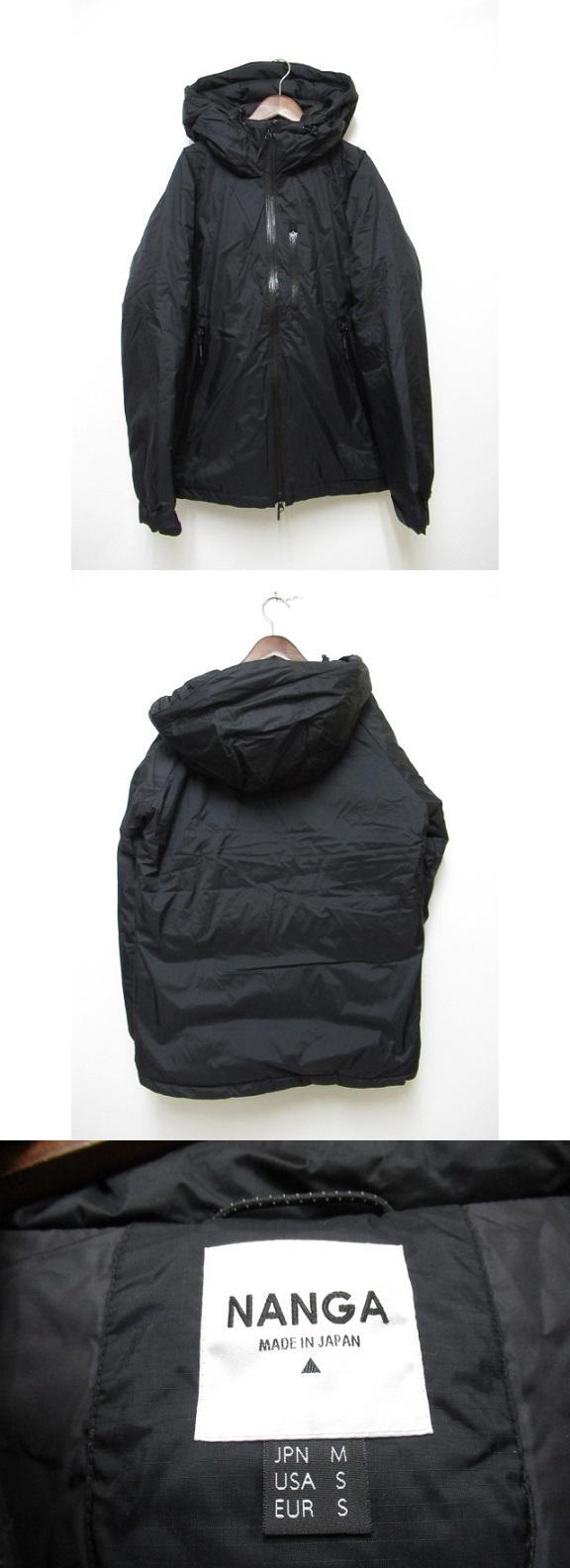 オーロラ ダウンジャケット AURORA DOWN JACKET M ブラック【ブランド古着ベクトル】【中古】200304