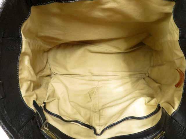 モト MOTO  BAG19 GOAT LEATHER TOTE /Black レザートートバッグ【ブランド古着ベクトル】【中古】210423 メンズ
